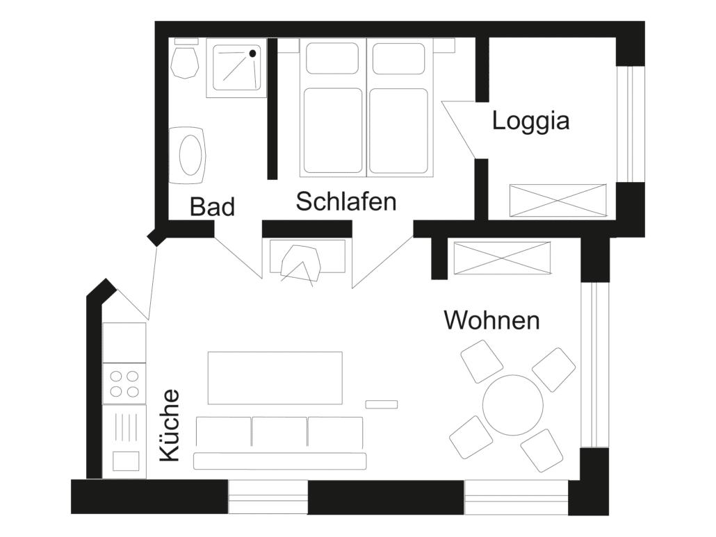 info 39 s zu den ferienwohnungen bernstein und onyx auf. Black Bedroom Furniture Sets. Home Design Ideas