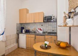Ferienwohnung Jade Küche - Urlaubshotel Strandvilla Imperator im Seebad Bansin auf Usedom