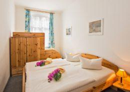 Ferienwohnung Jade Schlafzimmer 1 - Urlaubshotel Strandvilla Imperator im Seebad Bansin auf Usedom