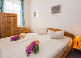 Ferienwohnung Jade Schlafzimmer 2 - Urlaubshotel Strandvilla Imperator im Seebad Bansin auf Usedom