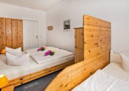 Ferienwohnung Jade Schlafzimmer 3 - Urlaubshotel Strandvilla Imperator im Seebad Bansin auf Usedom