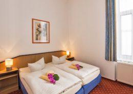 Ferienwohnung Onyx Schlafzimmer 3 - Urlaubshotel Strandvilla Imperator im Seebad Bansin auf Usedom