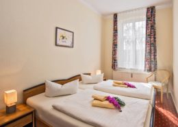 Ferienwohnung Waldrand Schlafzimmer - Urlaubshotel Strandvilla Imperator im Seebad Bansin auf Usedom