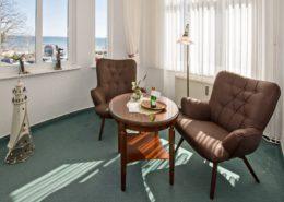Villa Imperator Doppelzimmer Komfort Veranda 2 - Urlaubshotel Strandvilla Imperator mit Ferienwohnungen und Zimmern im Seebad Bansin auf Usedom