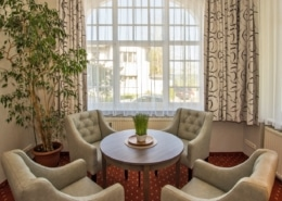 """Ferienwohnung """"Komfort"""" Bernstein Wohnbereich 3 - Urlaubshotel Strandvilla Imperator im Seebad Bansin auf Usedom"""