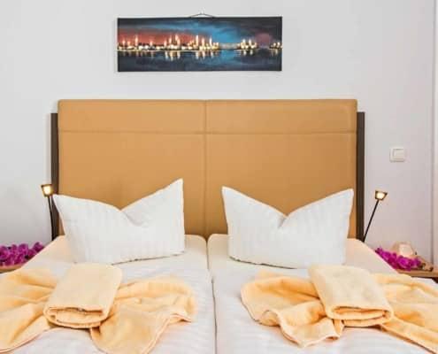 Familienzimmer Typ 2 - Urlaubshotel Strandvilla Imperator mit Ferienwohnungen und Zimmern im Seebad Bansin auf Usedom