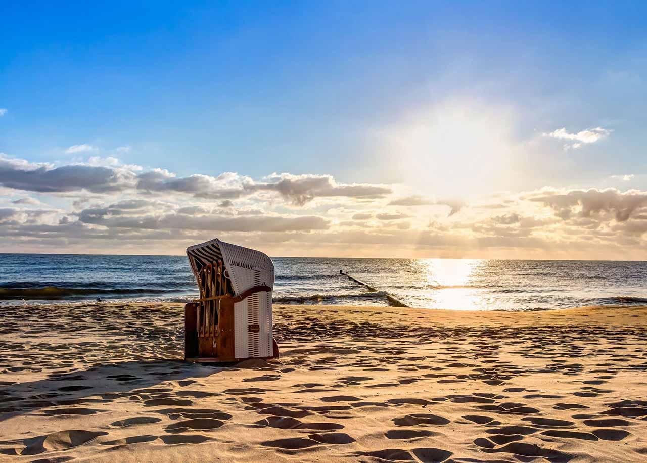 Ihre strandnah gelegene Wohlfühl Pension Strandvilla Imperator im Seebad Bansin auf der Insel Usedom an der Ostsee für Ihren Strandurlaub