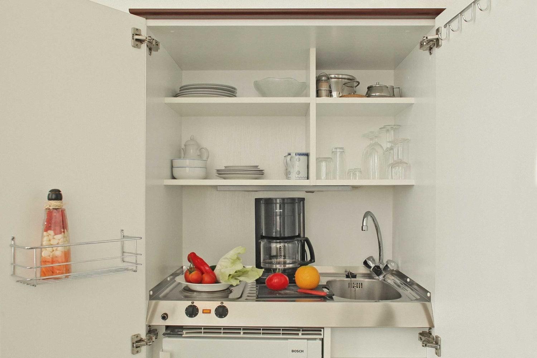 Doppelzimmer Komfort Mini Küche - Urlaubshotel Strandvilla Imperator in Bansin auf Usedom