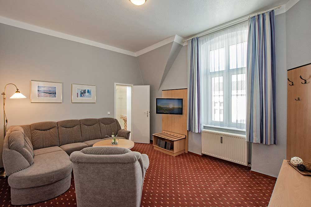 Amethyst Familienzimmer Typ 1 Wohnzimmer