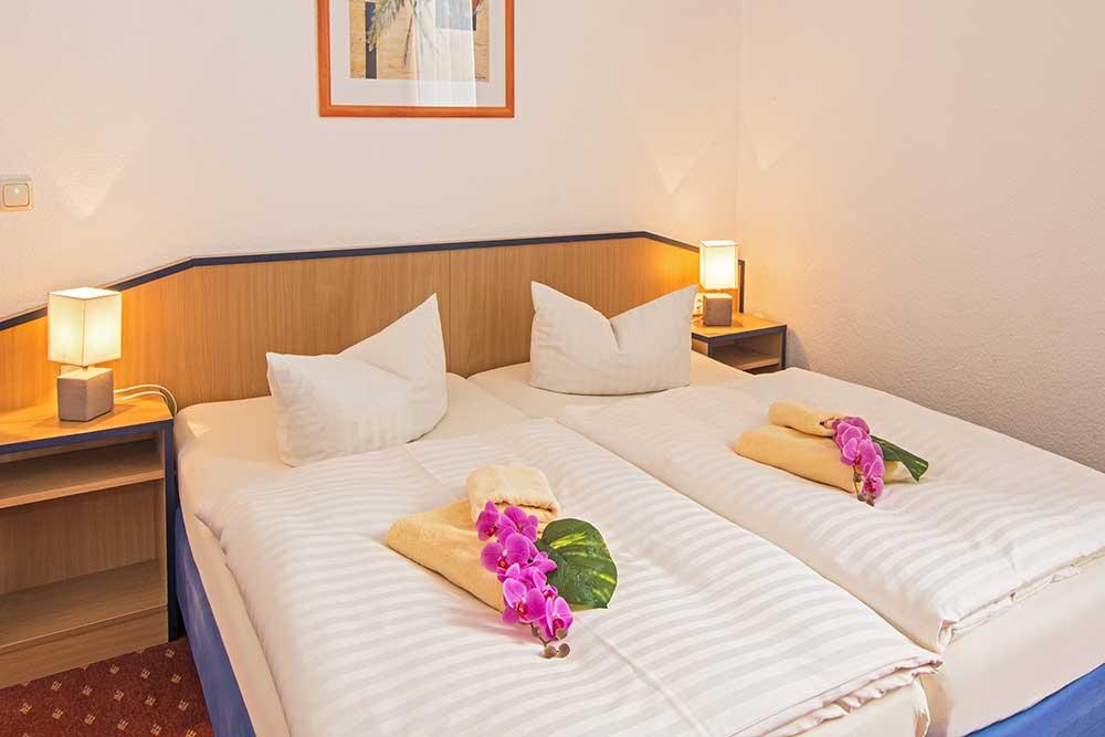 Ferienwohnung Onyx Schlafzimmer