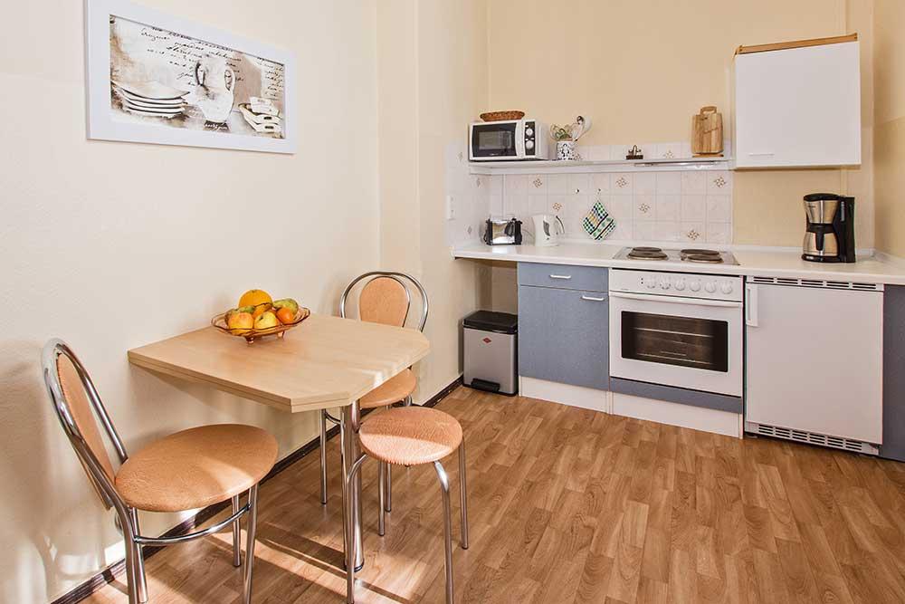 Opal Küche Ferienwohnung Seebad Bansin