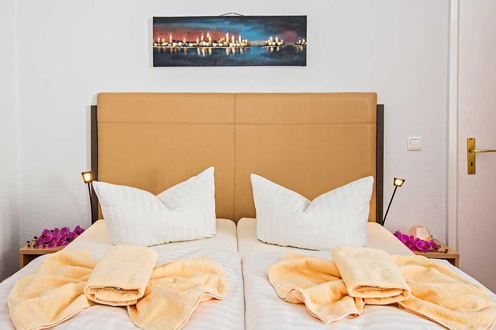 Saphir Familienzimmer Typ 2 Schlafzimmer Detail 2