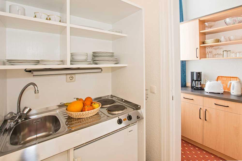 Smaragd Familienzimmer Typ 2 Küchenzeile