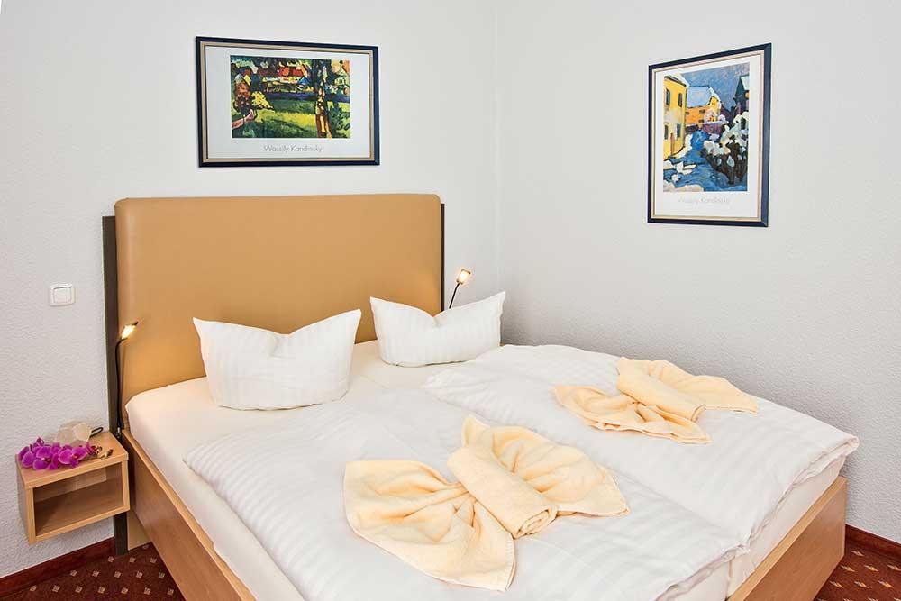 Smaragd Familienzimmer Typ 2 Schlafzimmer Detail