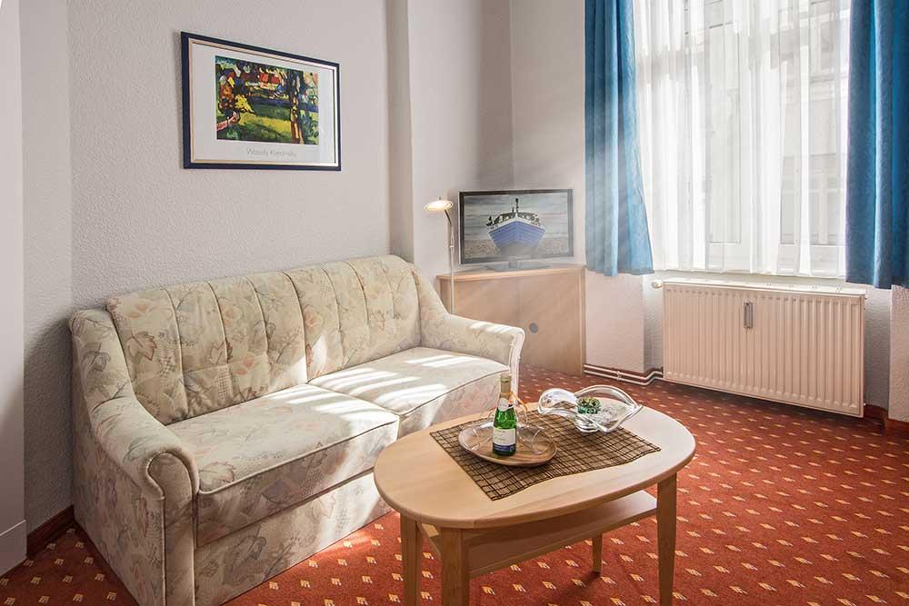 Saphir Familienzimmer Typ 2 Wohnbereich