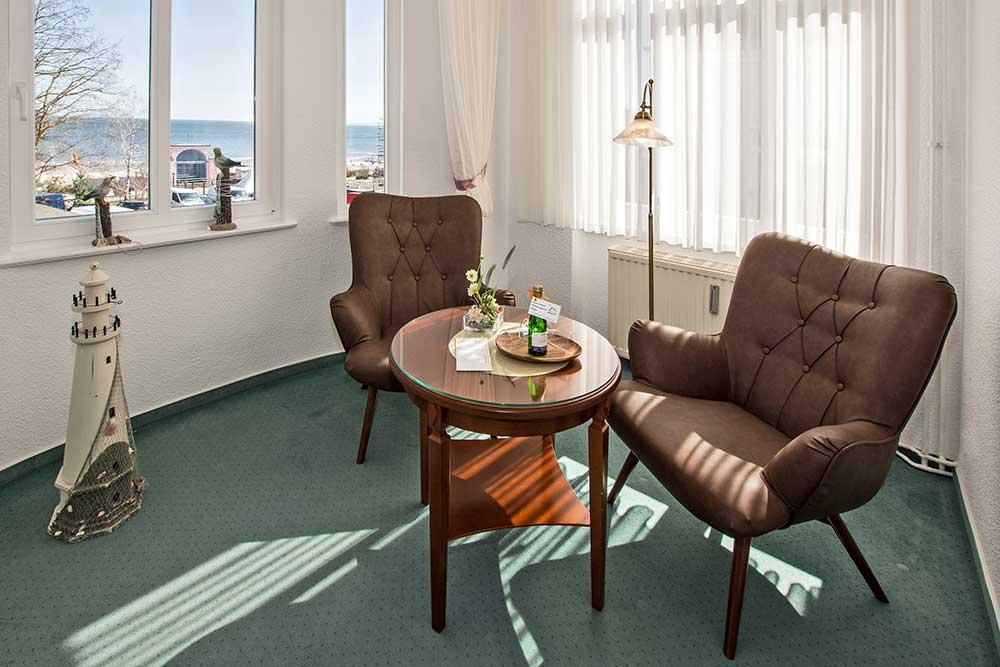 Doppelzimmer Komfort Sitzecke