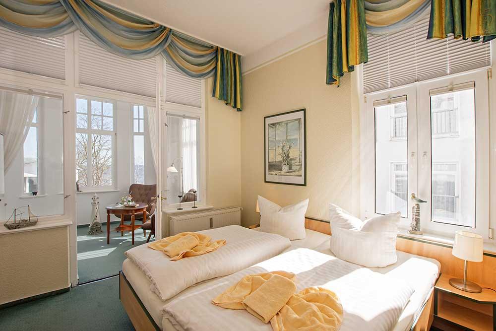 Doppelzimmer Komfort Schlafzimmer
