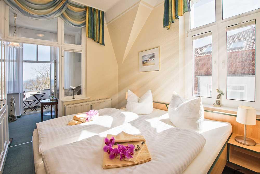 Doppelzimmer Komfort Schlafbereich
